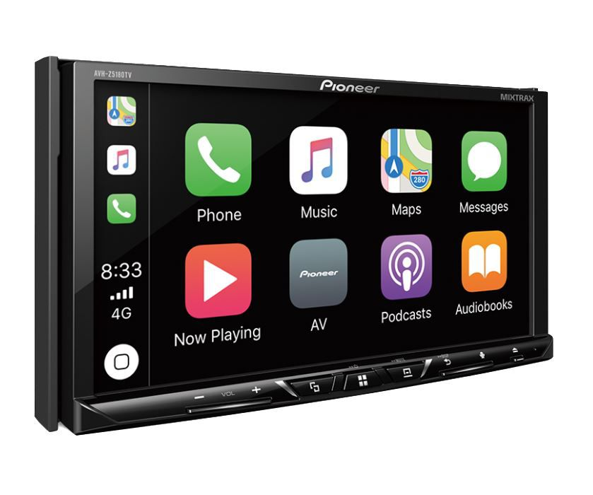 "Dvd Player Pioneer Avh-z 5180 tv 7"" 2 Din Tv Usb Bluetooth Aux"