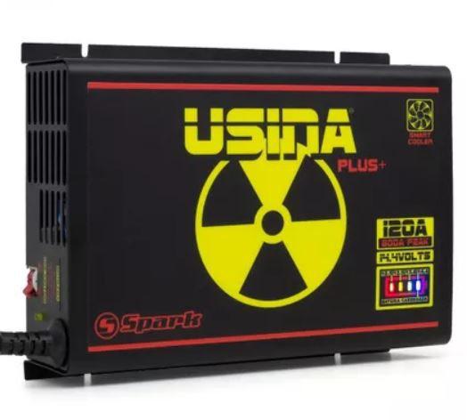 Fonte Carregador Usina Battery Meter 120A Bivolt Smart Cooler