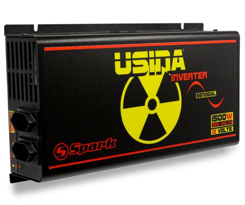 Inversor Senoidal Transformador Usina Inverter 12 Volts para 220 Volts 1500 Watts