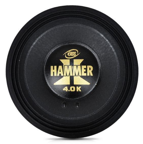 "Kit Reparo para Alto Falante Eros 12"" E12 Hammer 4.0K 2000W Rms 4 Ohms"