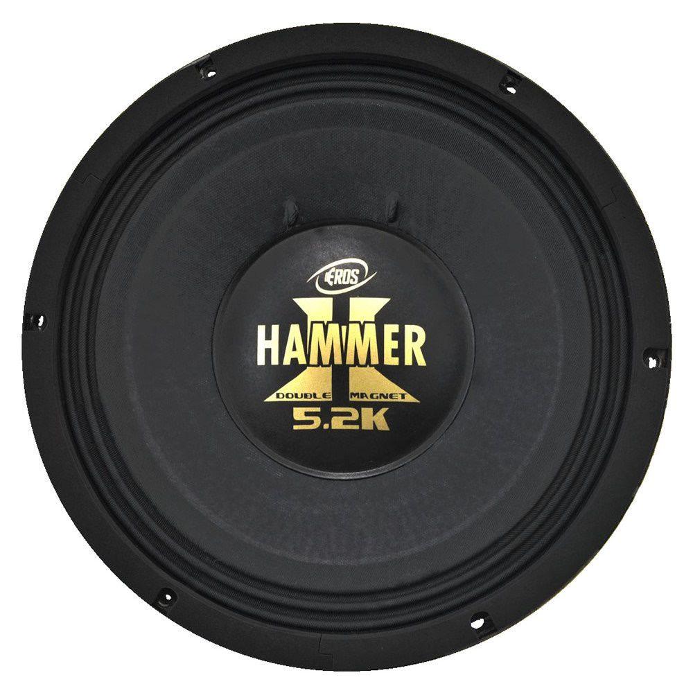"Kit Reparo para Alto Falante Eros 12"" E12 Hammer 5.2K 2600W Rms 2 Ohms"