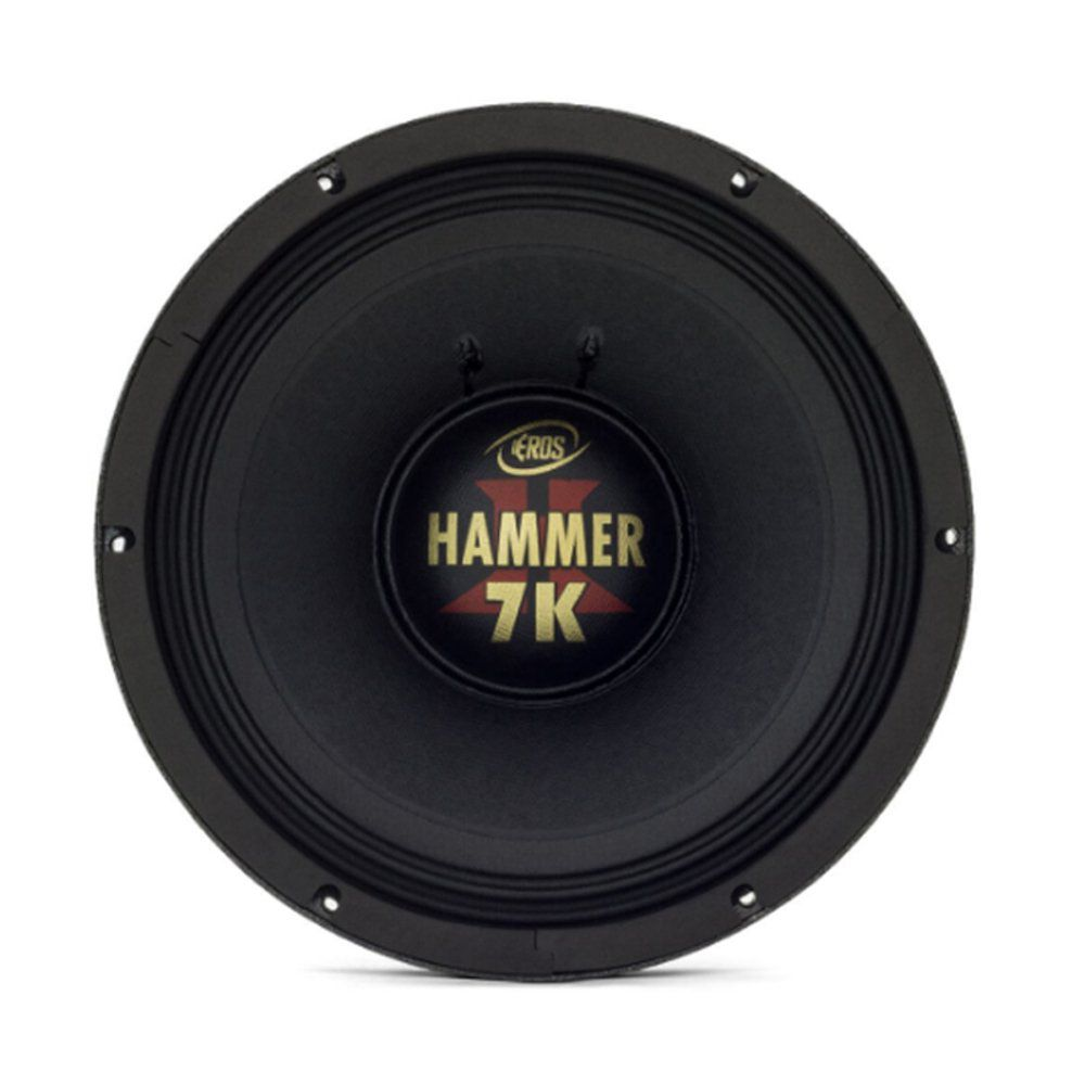 "Kit Reparo para Alto Falante Eros 12"" E12 Hammer 7K 3500W Rms 2 Ohms"