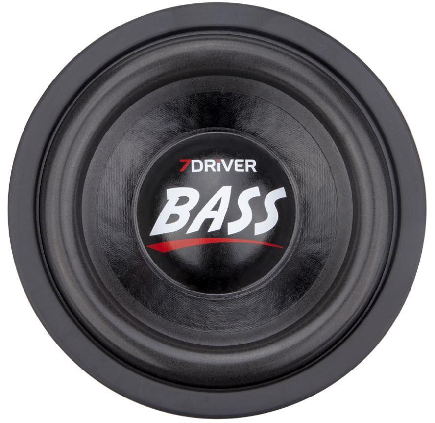 "Kit Reparo para Alto Falante Sub Woofer 7Driver Bass 1K2 8"" 600W Rms 4+4 Ohms"