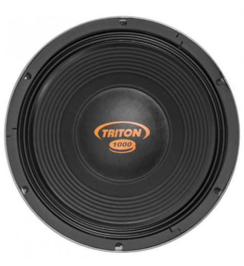 "Kit Reparo para Alto Falante Woofer Triton 12"" TR 1000 1000W Rms 4 Ohms"