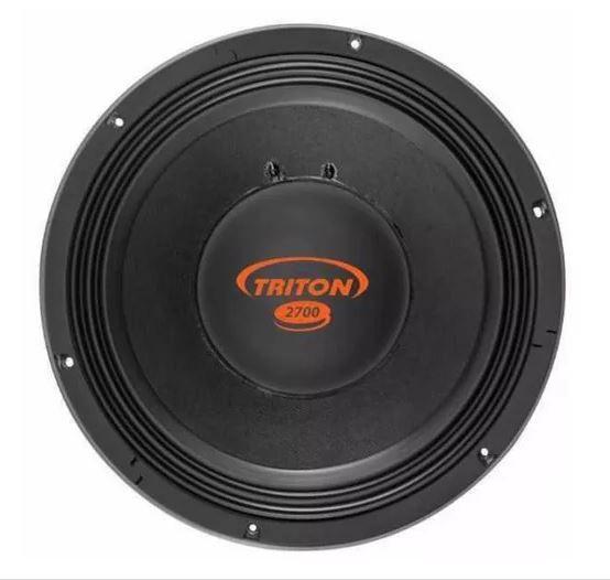 "Kit Reparo para Alto Falante Woofer Triton 12"" TR 2700 2700W Rms 4 Ohms"
