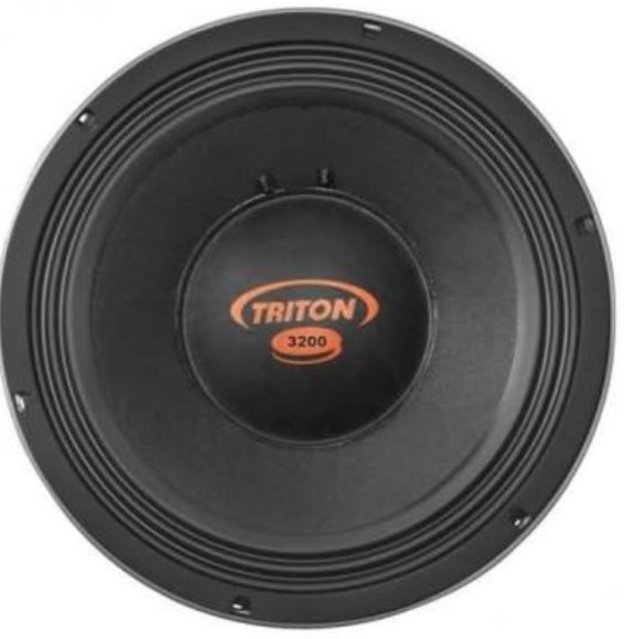 "Kit Reparo para Alto Falante Woofer Triton 12"" TR 3200 3200W Rms 4 Ohms"