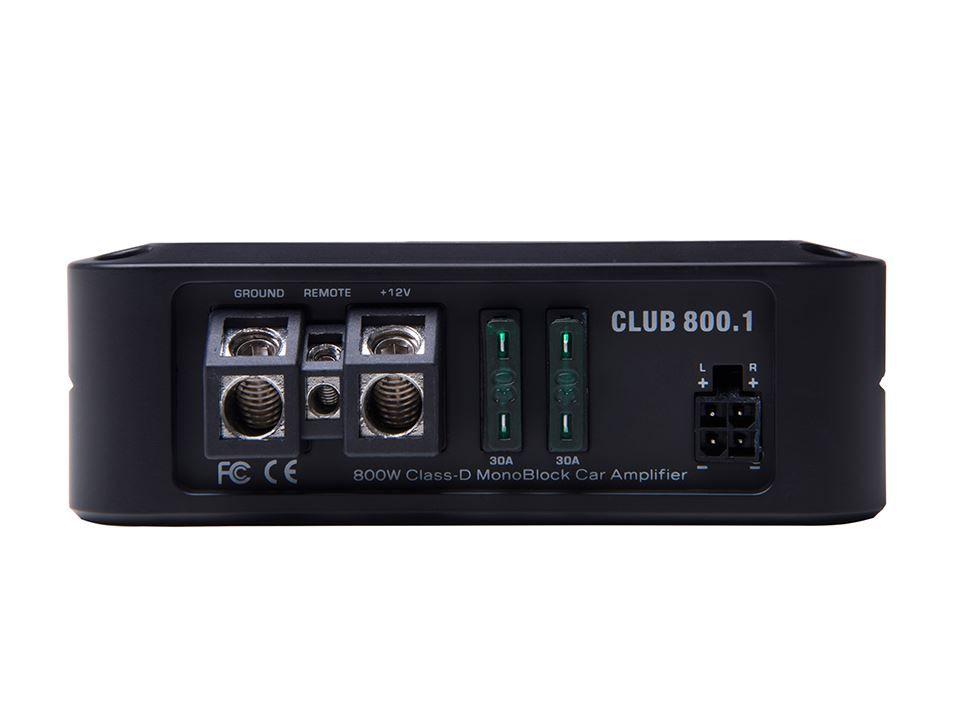 Módulo Amplificador Audiophonic Club 800.1 800W Rms 1 Canal 1X800W 1 Ohms