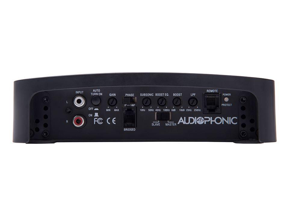 Módulo Amplificador Audiophonic H-Tech Blow 1 2000W Rms 1 Canal 1X2000W 1 Ohms