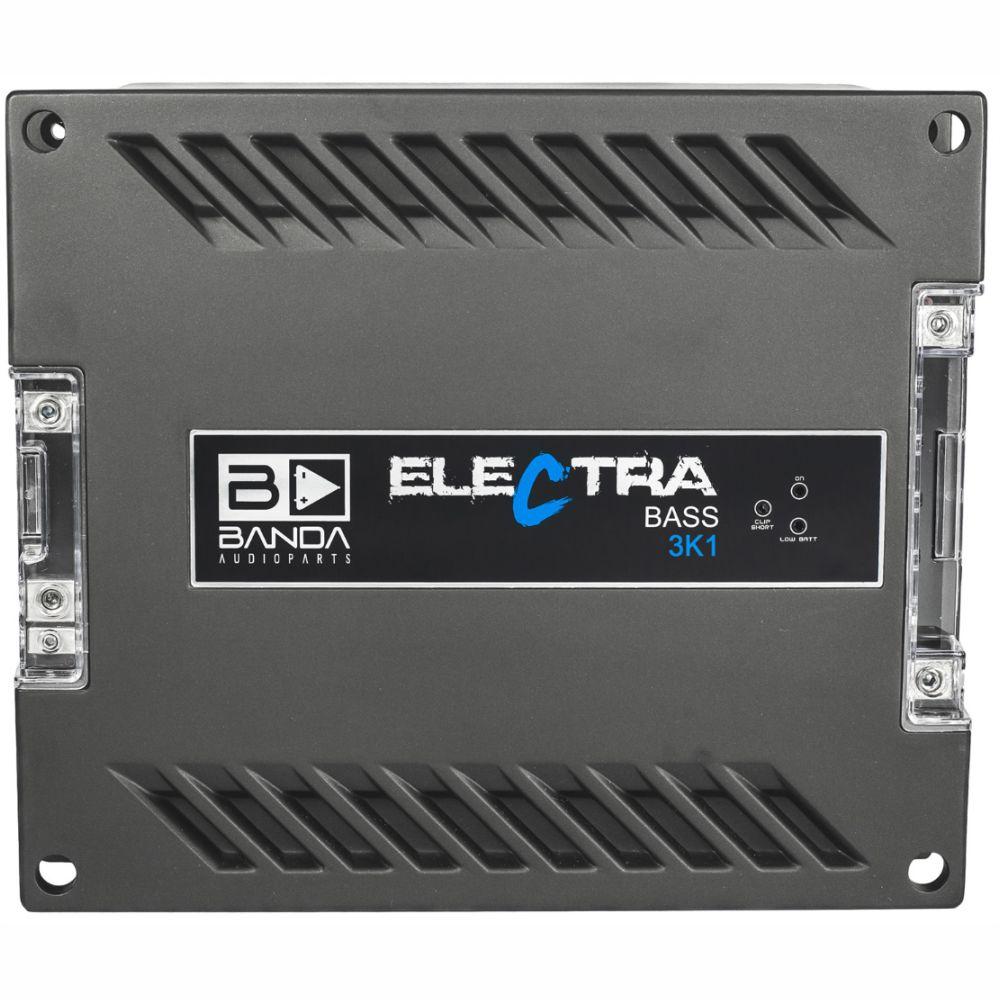 Módulo Amplificador Banda Electra Bass 3K1 3000W Rms 1 Ohms 1 Canal
