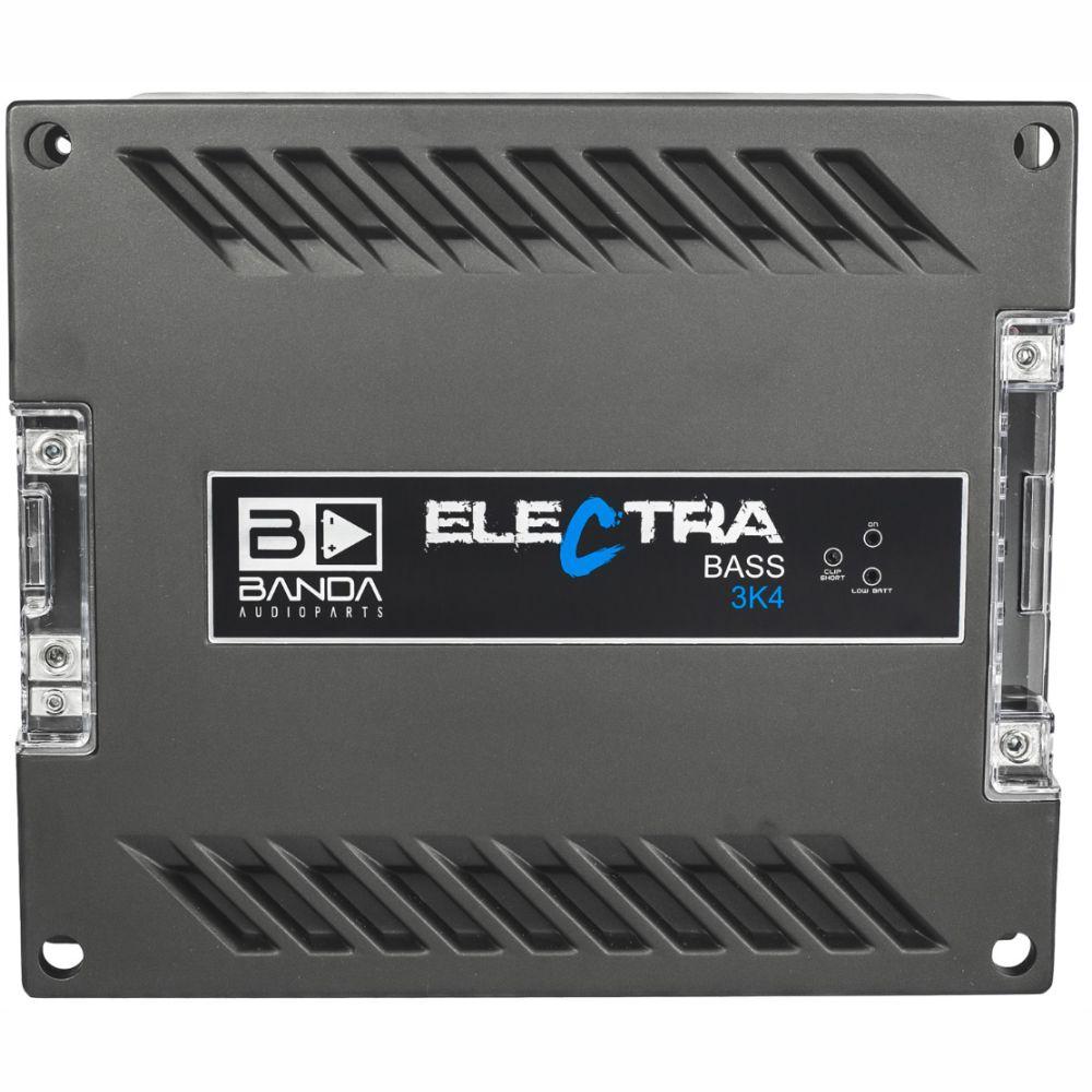 Módulo Amplificador Banda Electra Bass 3K4 3000W Rms 4 Ohms 1 Canal