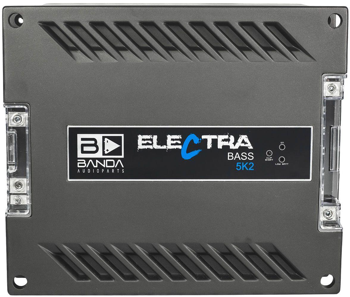 Módulo Amplificador Banda Electra Bass 5K2 5000W Rms 2 Ohms 1 Canal