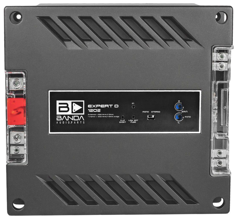 Módulo Amplificador Banda Expert 1202 1200W Rms 2 Ohms 2 Canais