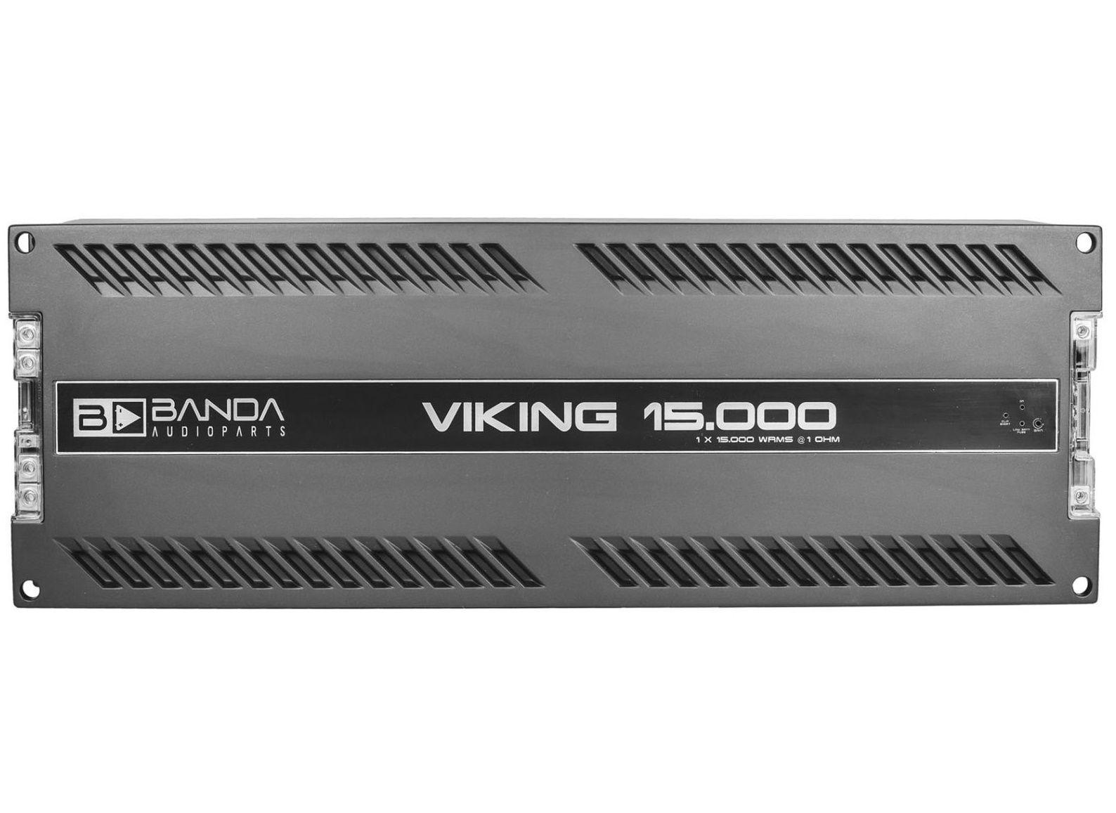 Módulo Amplificador Banda Viking 15000 15000W Rms 1 Ohms 1 Canal