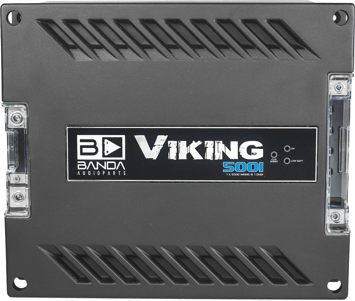 Módulo Amplificador Banda Viking 5001 5000W Rms 1 Ohms 1 Canal