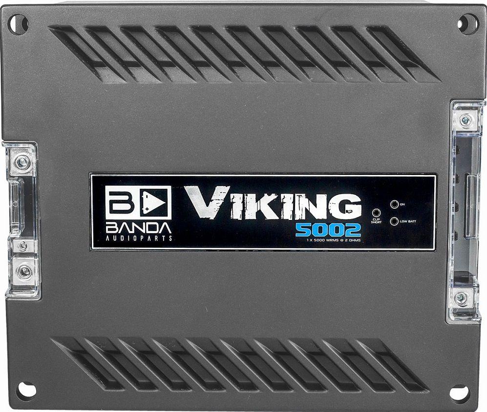 Módulo Amplificador Banda Viking 5002 5000W Rms 2 Ohms 1 Canal