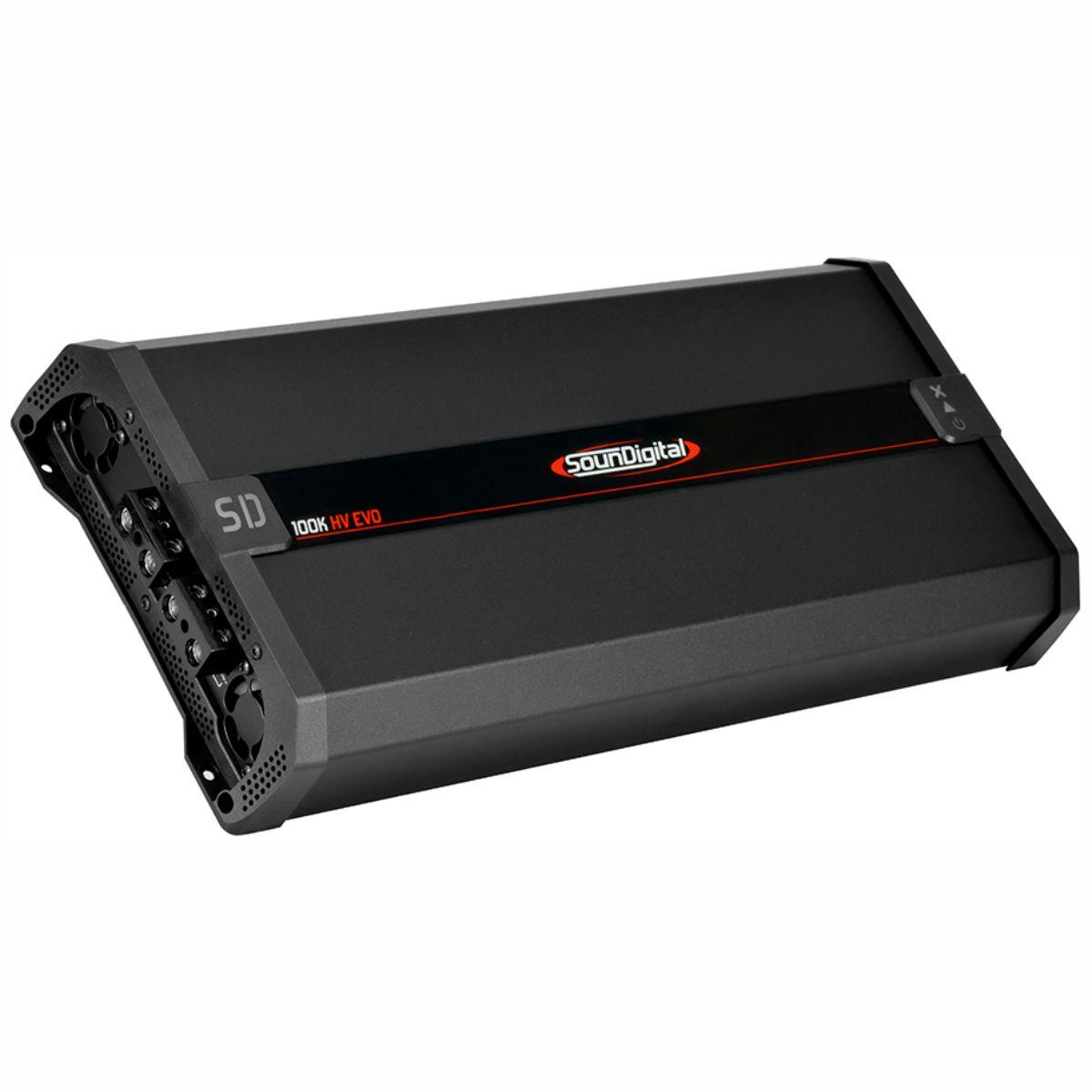 Módulo Amplificador Soundigital HV Unlimited Xlr 100K EVO 100000W Rms 1 Canal