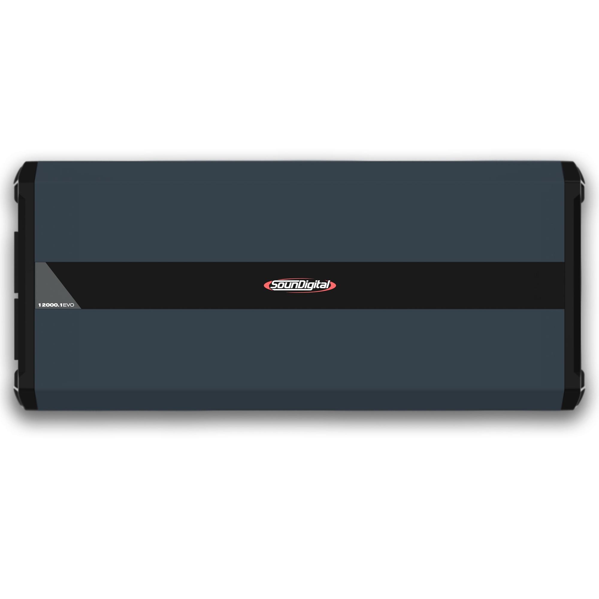 Módulo Amplificador Soundigital SD 12000.1 EVO 4.0 12000W Rms 2 Ohms 1 Canal
