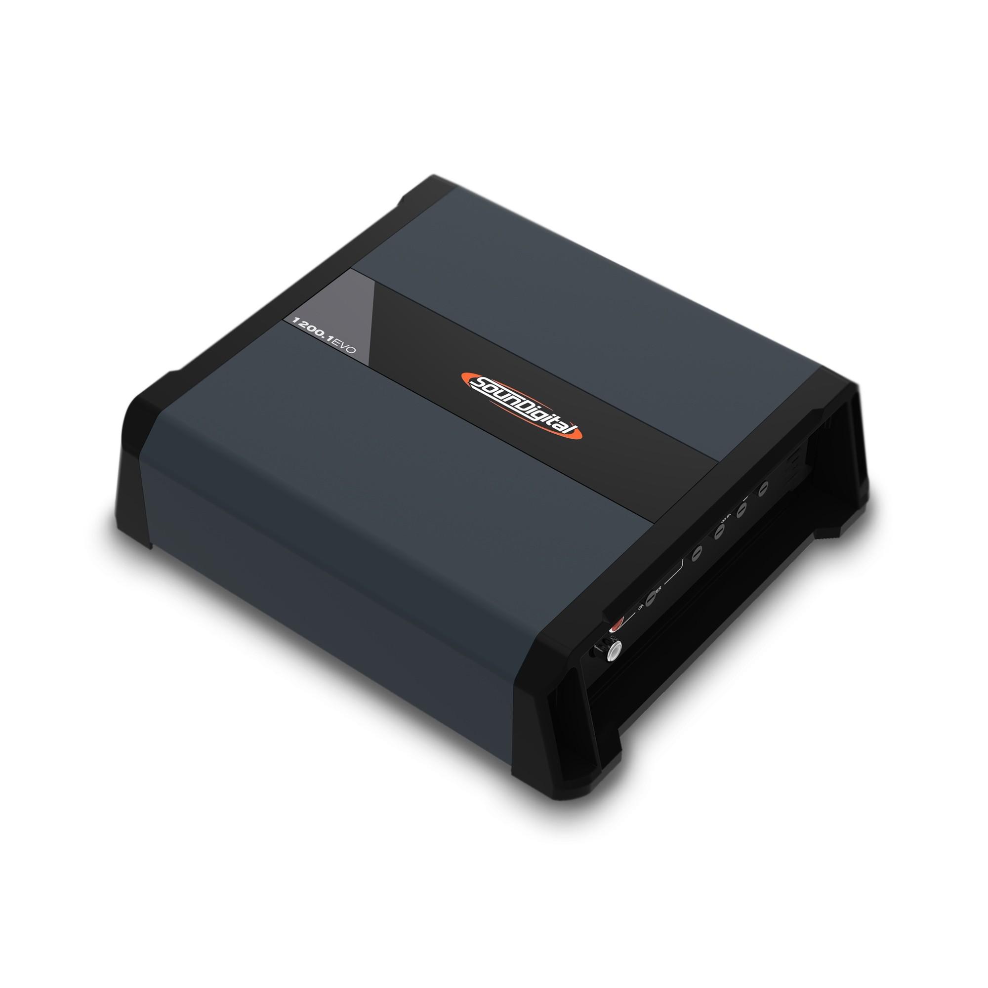 Módulo Amplificador Soundigital SD 1200.1 EVO 4.0 1200W Rms 1 Ohms 1 Canal