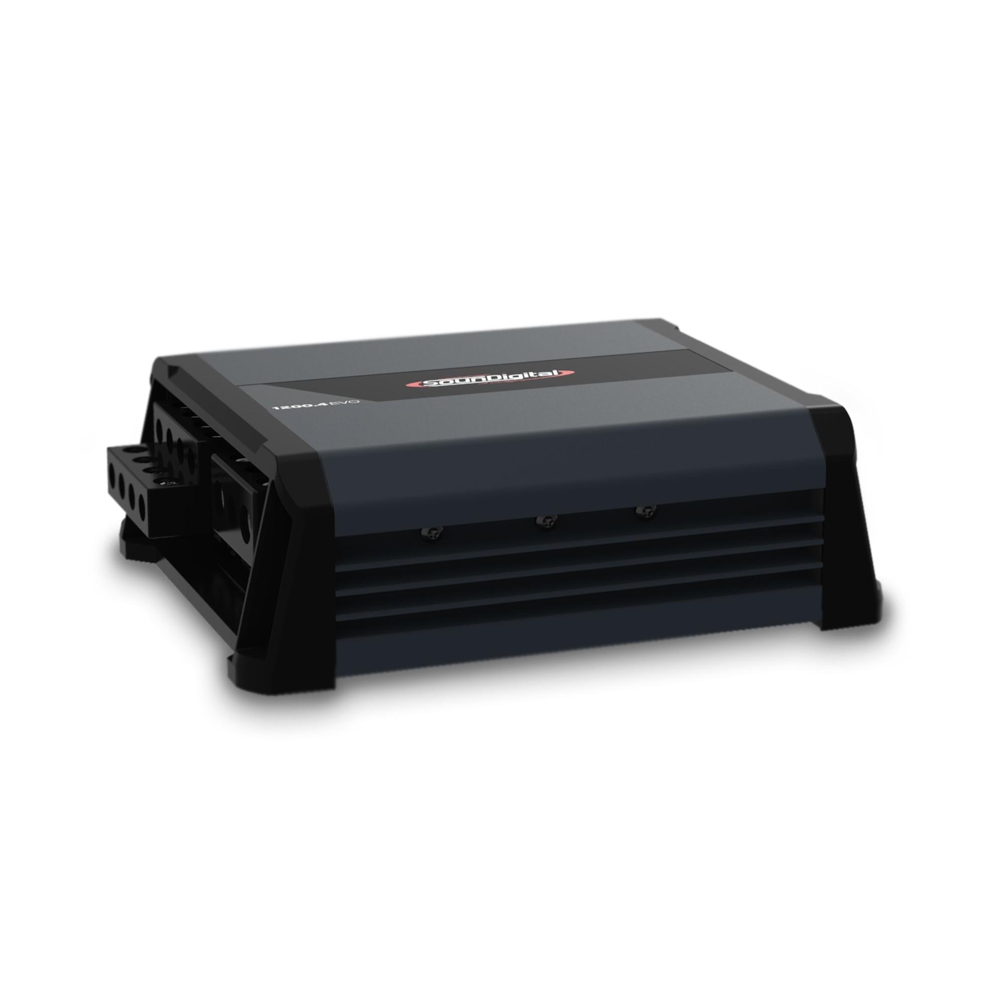 Módulo Amplificador Soundigital SD 1200.4 EVO 4.0 1200W Rms 4 Ohms 4 Canais