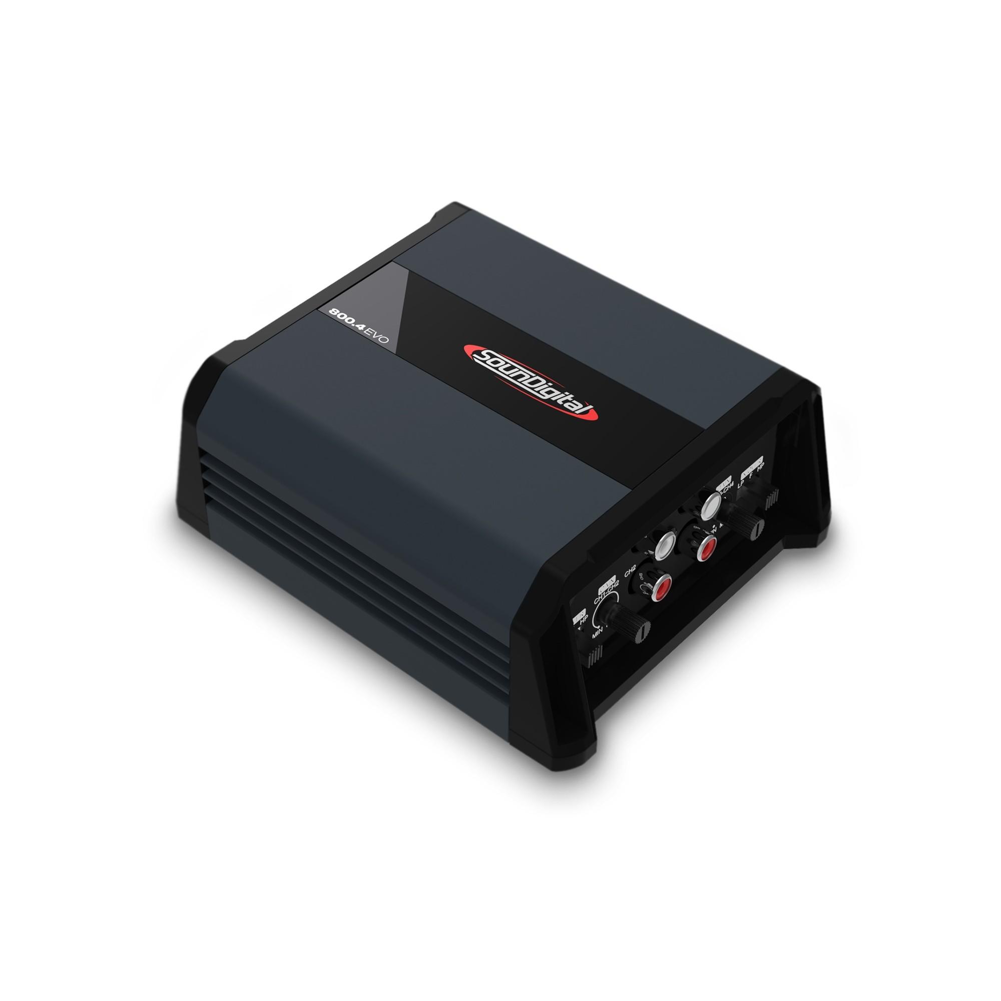 Módulo Amplificador Soundigital SD 800.4 EVO 4.0 800W Rms 4 Ohms 4 Canais