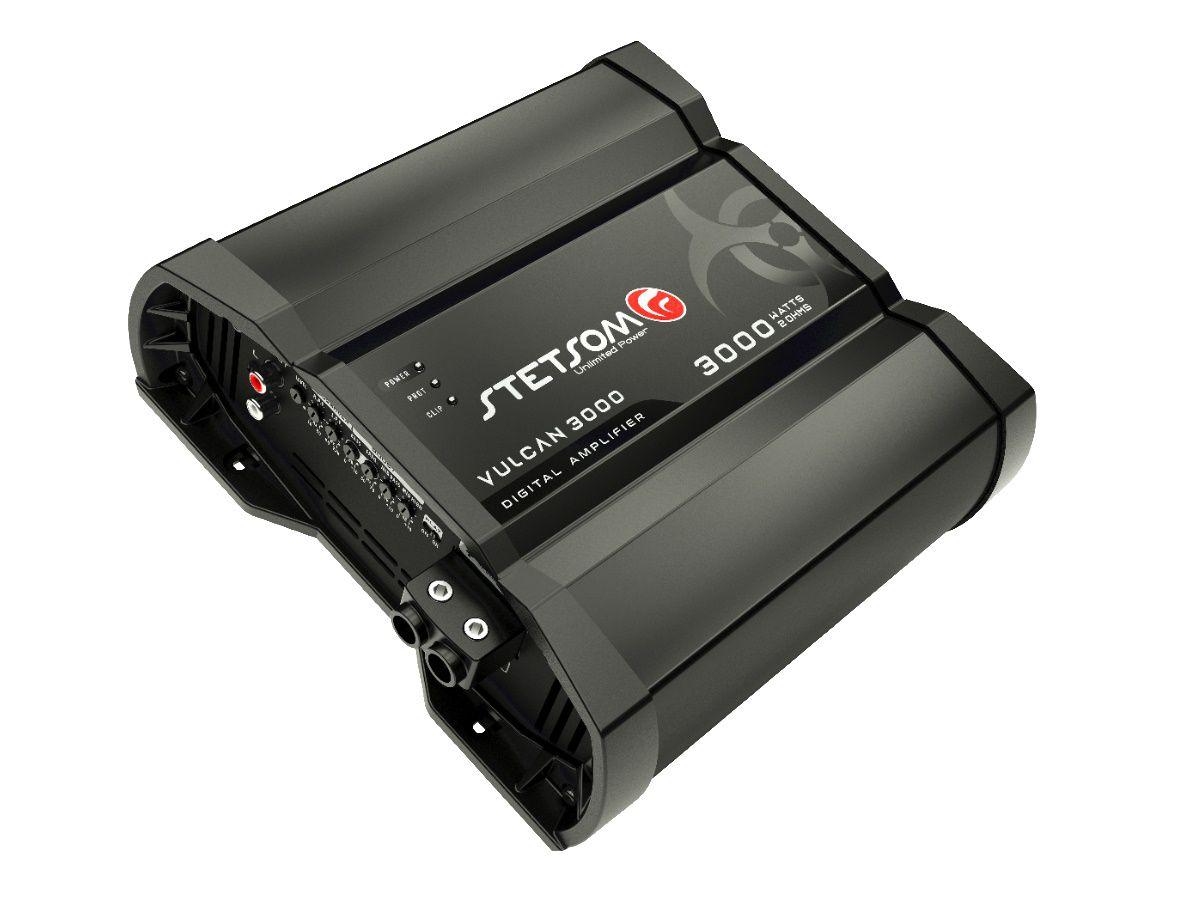 Módulo Amplificador Stetsom Vulcan 3000 3000W Rms 2 Ohms 1 Canal