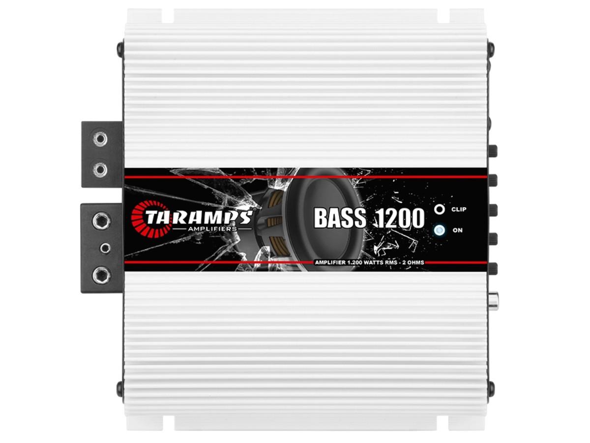 Módulo Amplificador Taramps Bass 1200 1200W Rms 2 Ohms 1 Canal