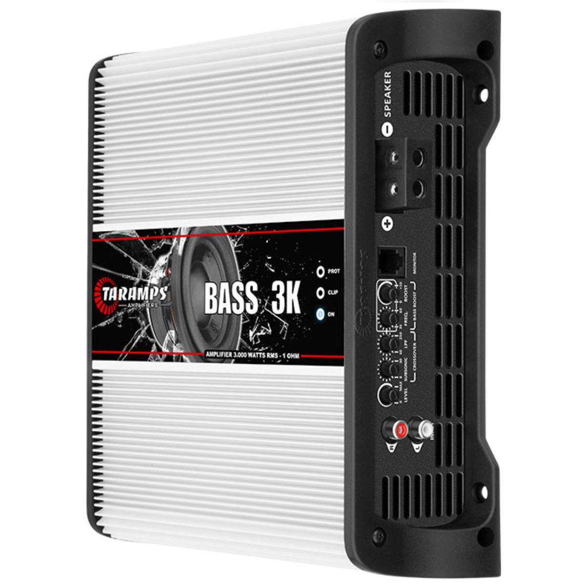 Módulo Amplificador Taramps Bass 3K 3000W Rms 1 Ohms 1 Canal