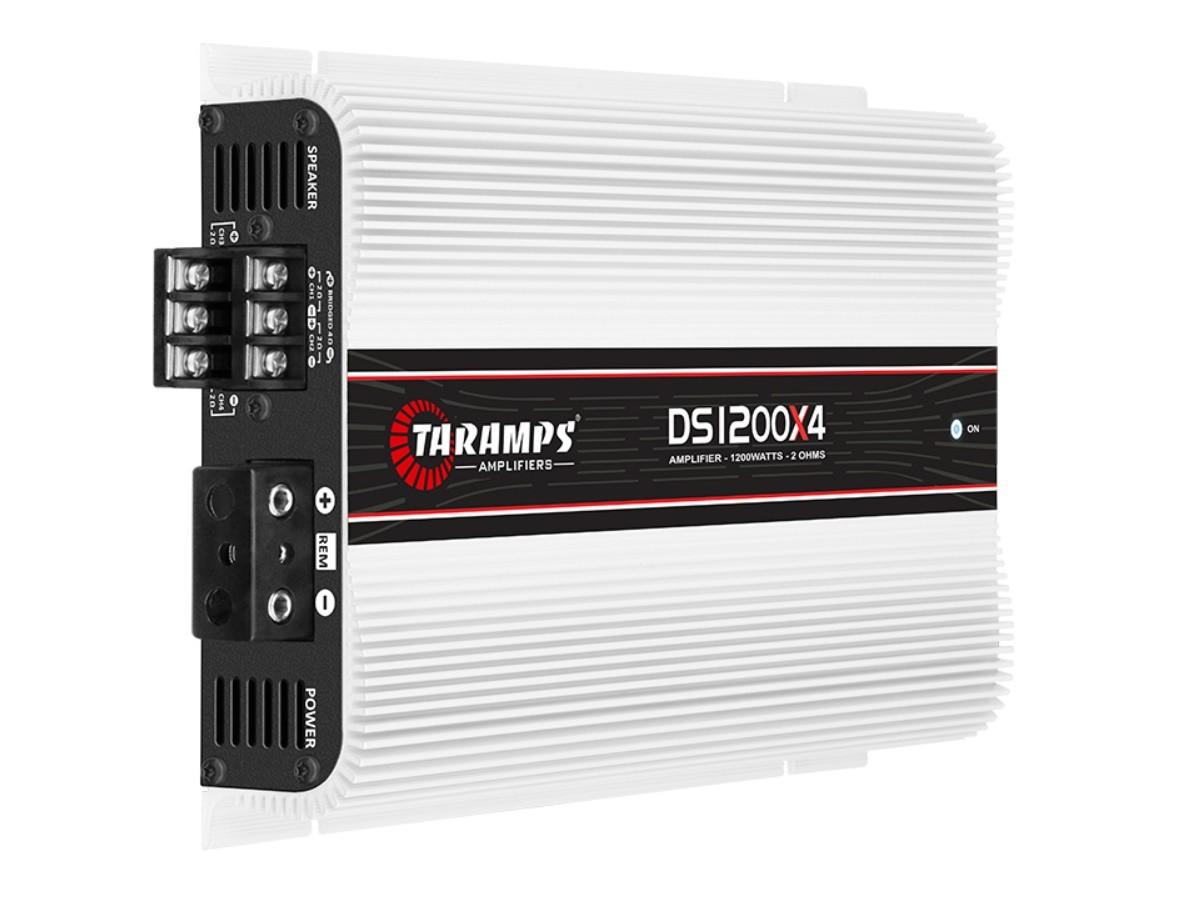 Módulo Amplificador Taramps DS 1200X4 1200W Rms 2 Ohms 4 Canais