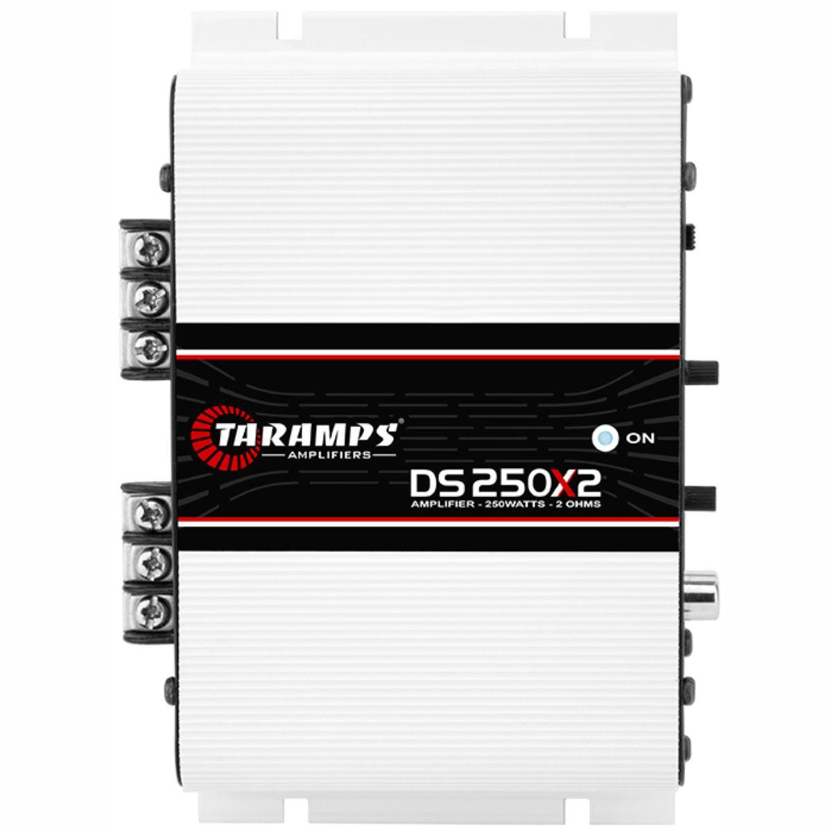 Módulo Amplificador Taramps DS 250X2 250W Rms 2 Ohms 2 Canais