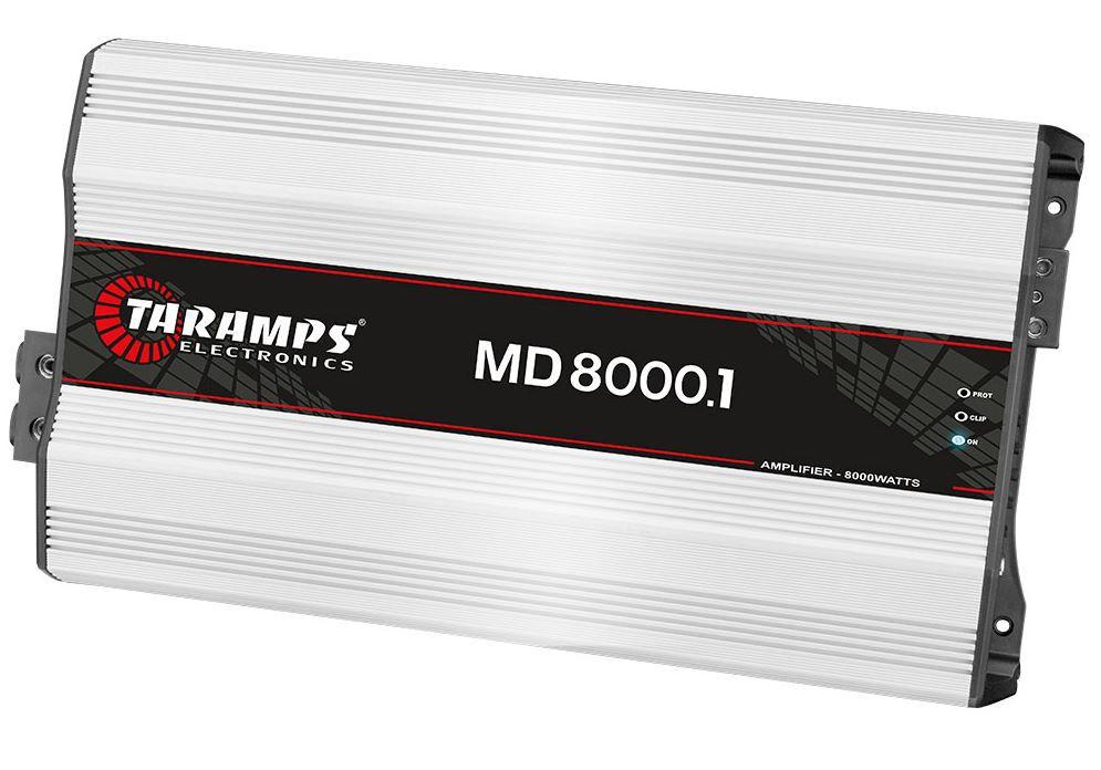Módulo Amplificador Taramps MD 8000 8000W RMS 2 Ohms 1 Canal