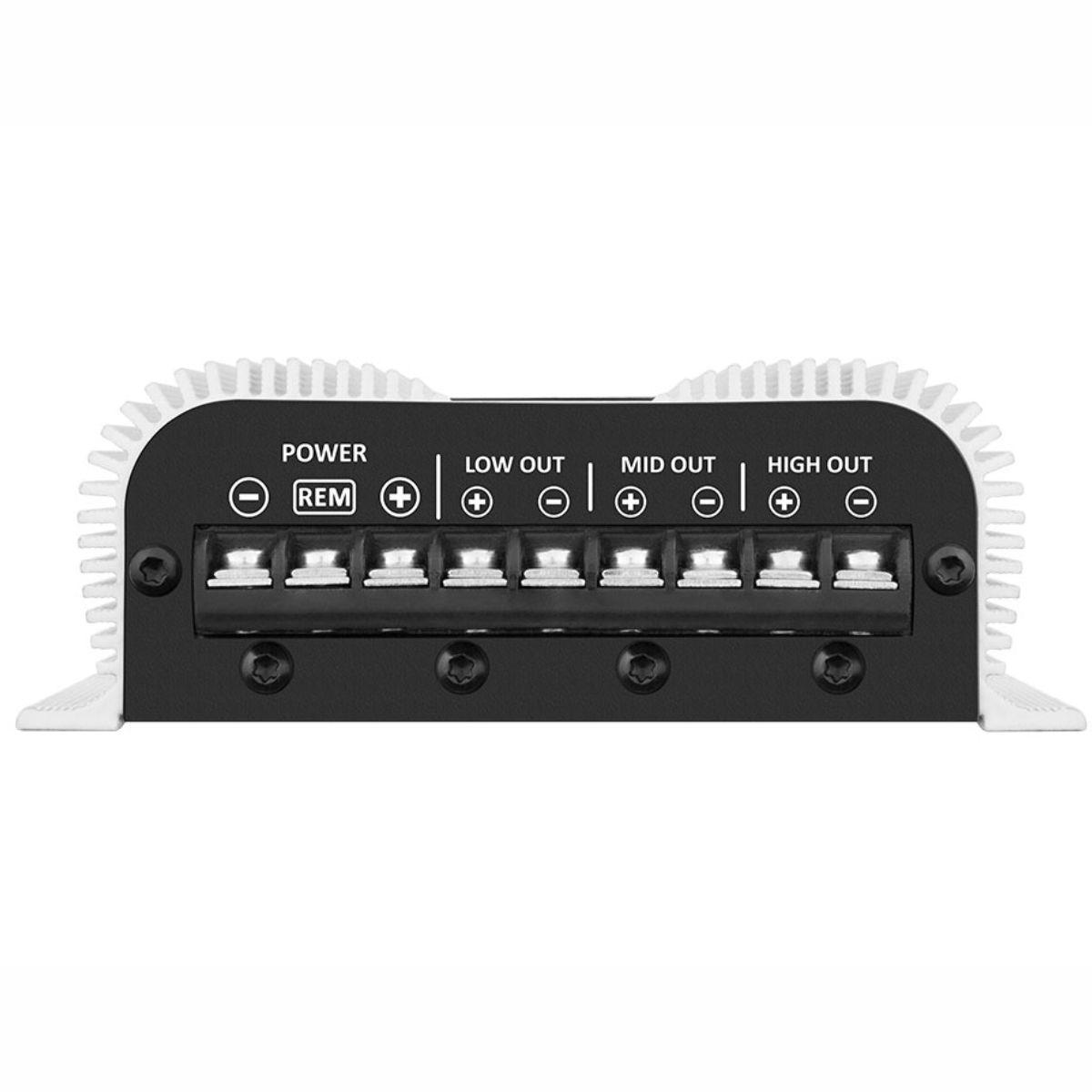 Módulo Amplificador Taramps Trio 400 Rms 2 Ohms 1 Canal + 2 Vias