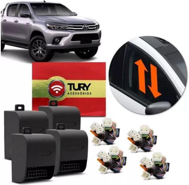 Módulo de Vidro Elétrico e Teto Tury Toyota Hilux, SW4, Prius e  Yaris 4 Portas LVX 5.8 DD