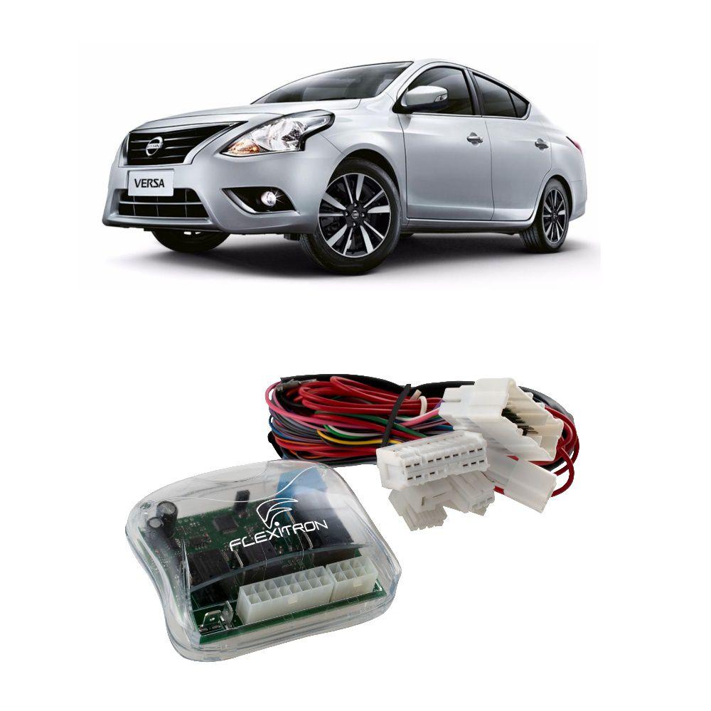 Módulo de Vidro Elétrico Flexitron para Nissan Versa 2 Portas SAFE NS-VR 2.0
