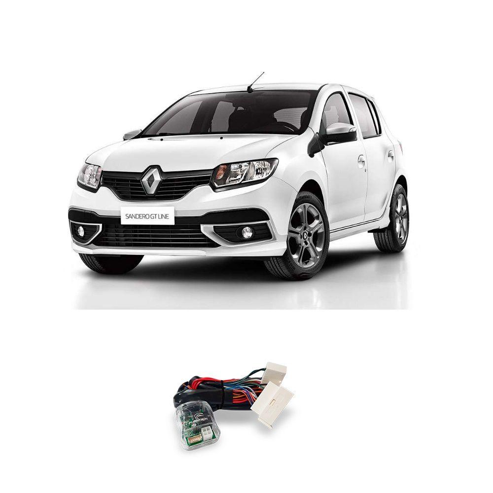 Módulo de Vidro Elétrico Flexitron para Renault Sandero e Logan 2020 2 Portas SAFE RN-SA 2.1