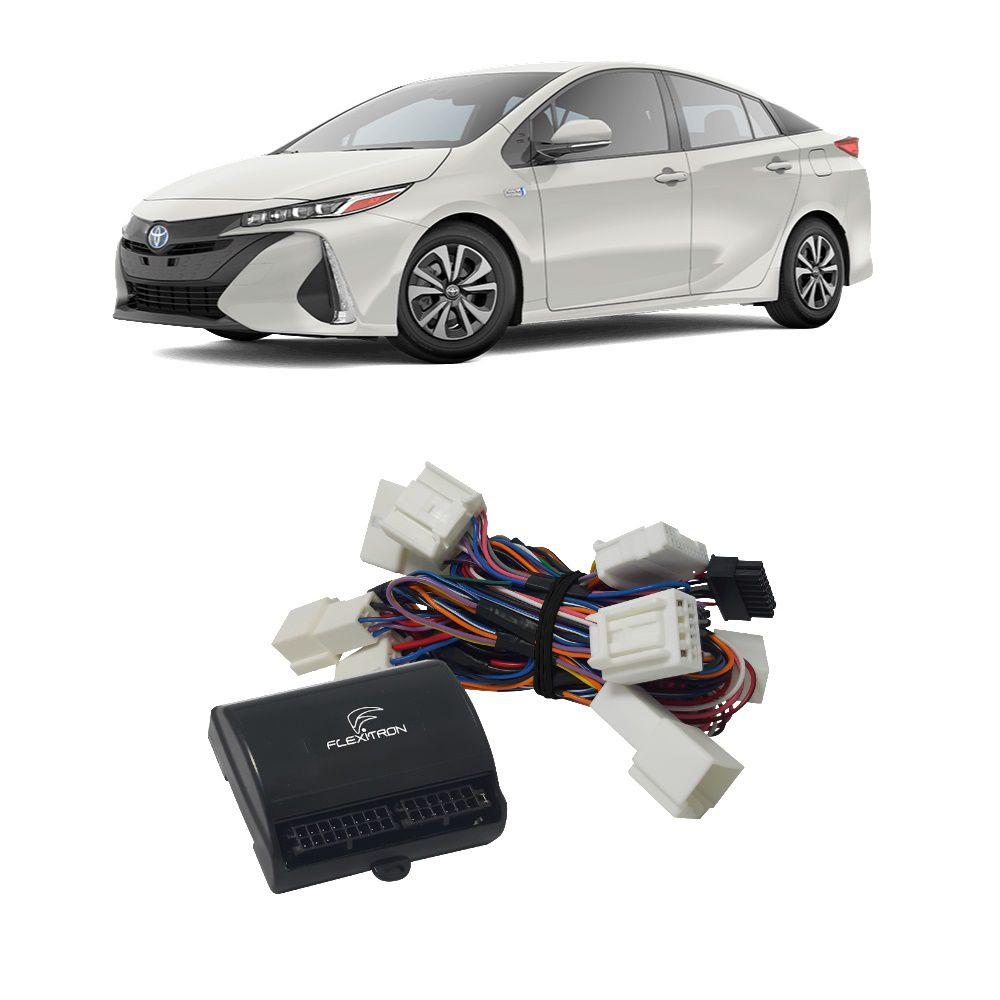 Módulo de Vidro Elétrico, Tilt Down e Auto Lock Flexitron para Toyota Prius 2020 FCT VDL TY-PR 4.1