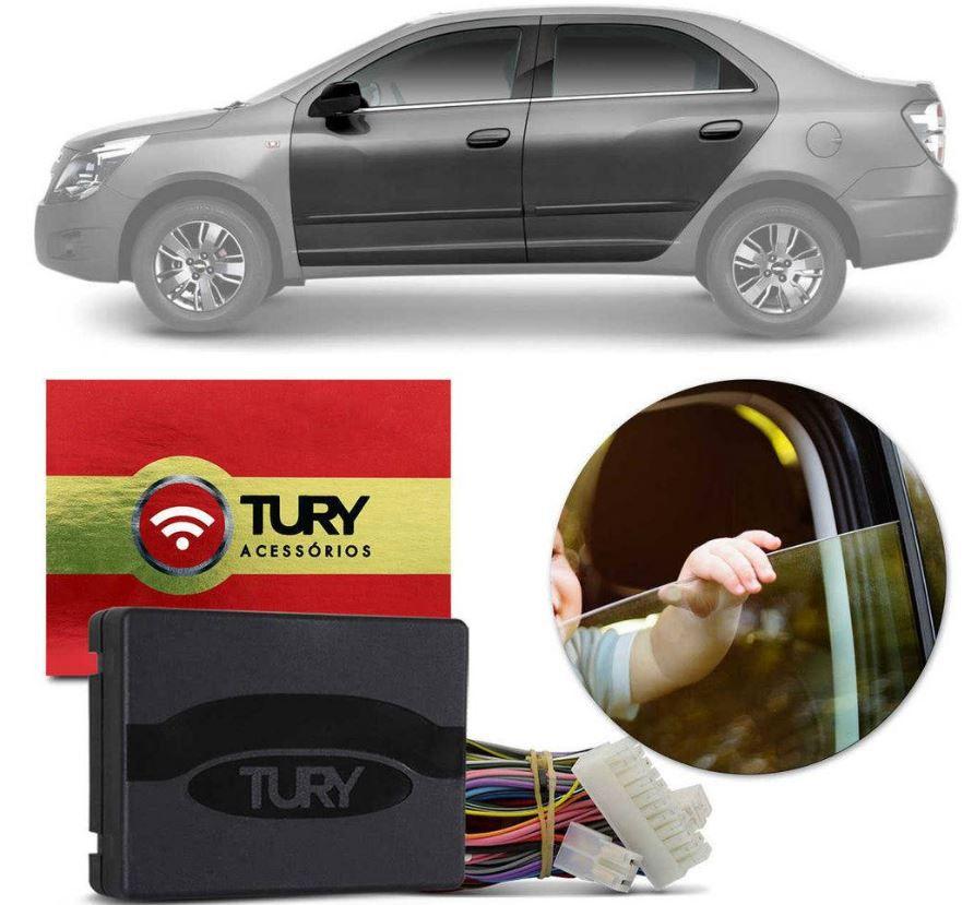 Módulo de Vidro Elétrico Tury Hyundai Cobalt LTZ e Spin até 2014 4 Portas PRO 4.10 AA