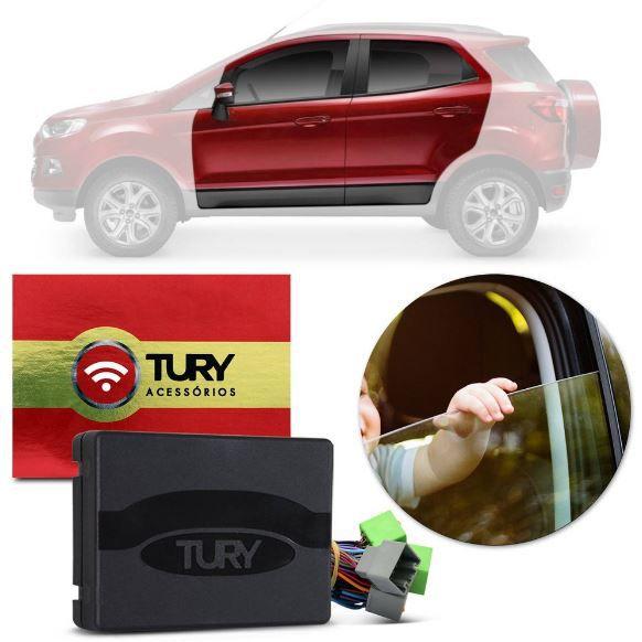 Módulo de Vidro Elétrico Tury Ka, Ka+, Ecosport e New Fiesta 4 Portas PRO 4.40 AP