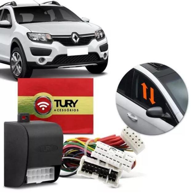 Módulo de Vidro Elétrico Tury Renault Sandero e Logan 2016 a 2018 4 Portas LVX 5.11 DE