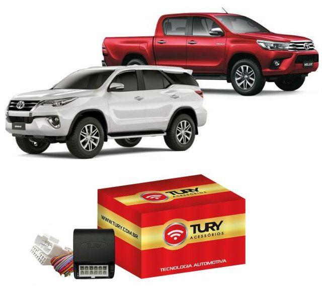 Módulo de Vidro Elétrico Tury Toyota Hilux e SW4 a partir de 2016 4 Portas LVX 5.18 BN