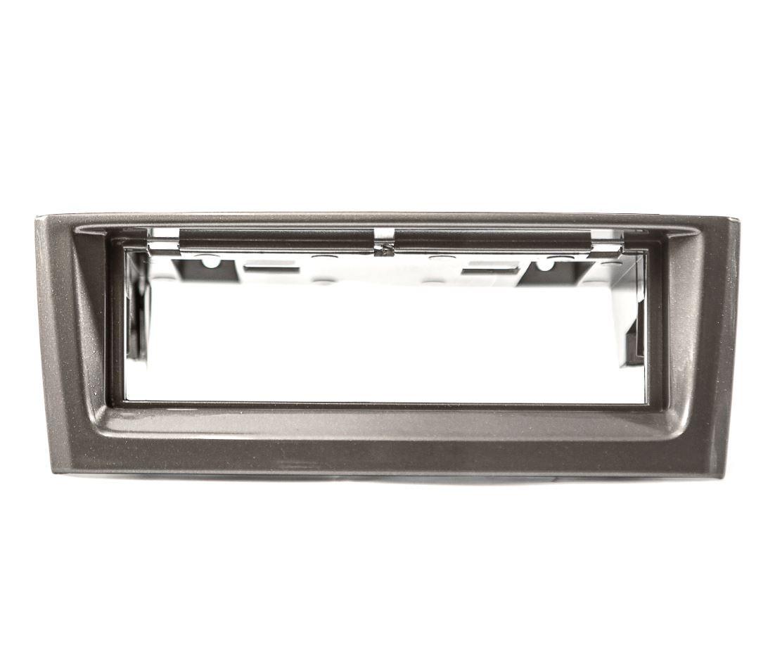 Moldura Painel 1 Din para Punto e Linea até 2012 Prata EPX 397