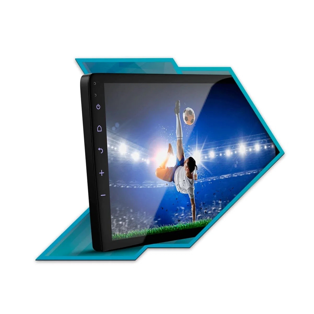 """Multimídia Android Faaftech 10,1"""" FT-MM-AND10.1 HY USB Bluetooth Espelhamento Google Play Android 10 para HB20 2020"""