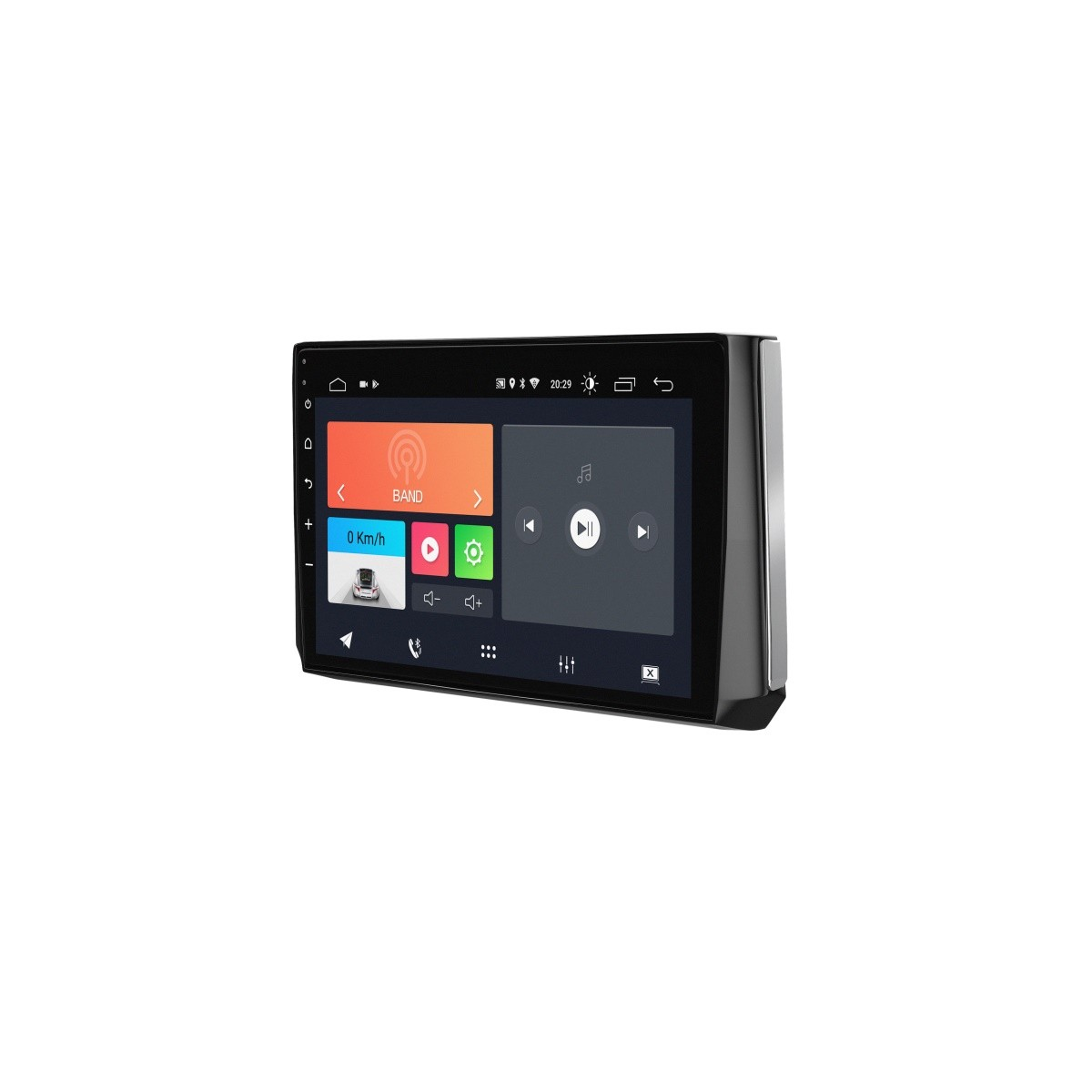 """Multimídia Android Faaftech 10,1"""" FT-MM-AND10.1 TY USB Bluetooth Espelhamento Google Play Android 10 para Corolla 2020 2021"""