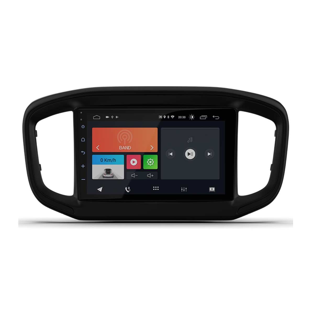 "Multimídia Android Faaftech 9"" FT-MM-AND9 ST USB Bluetooth para Strada 2021"