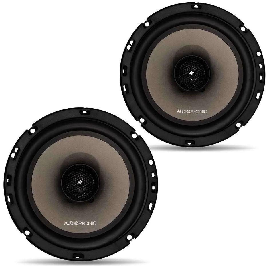 """Par de Alto Falante Coaxial Audiophonic 6"""" Sensation CS 6.2 V2 110W Rms 4 Ohms"""