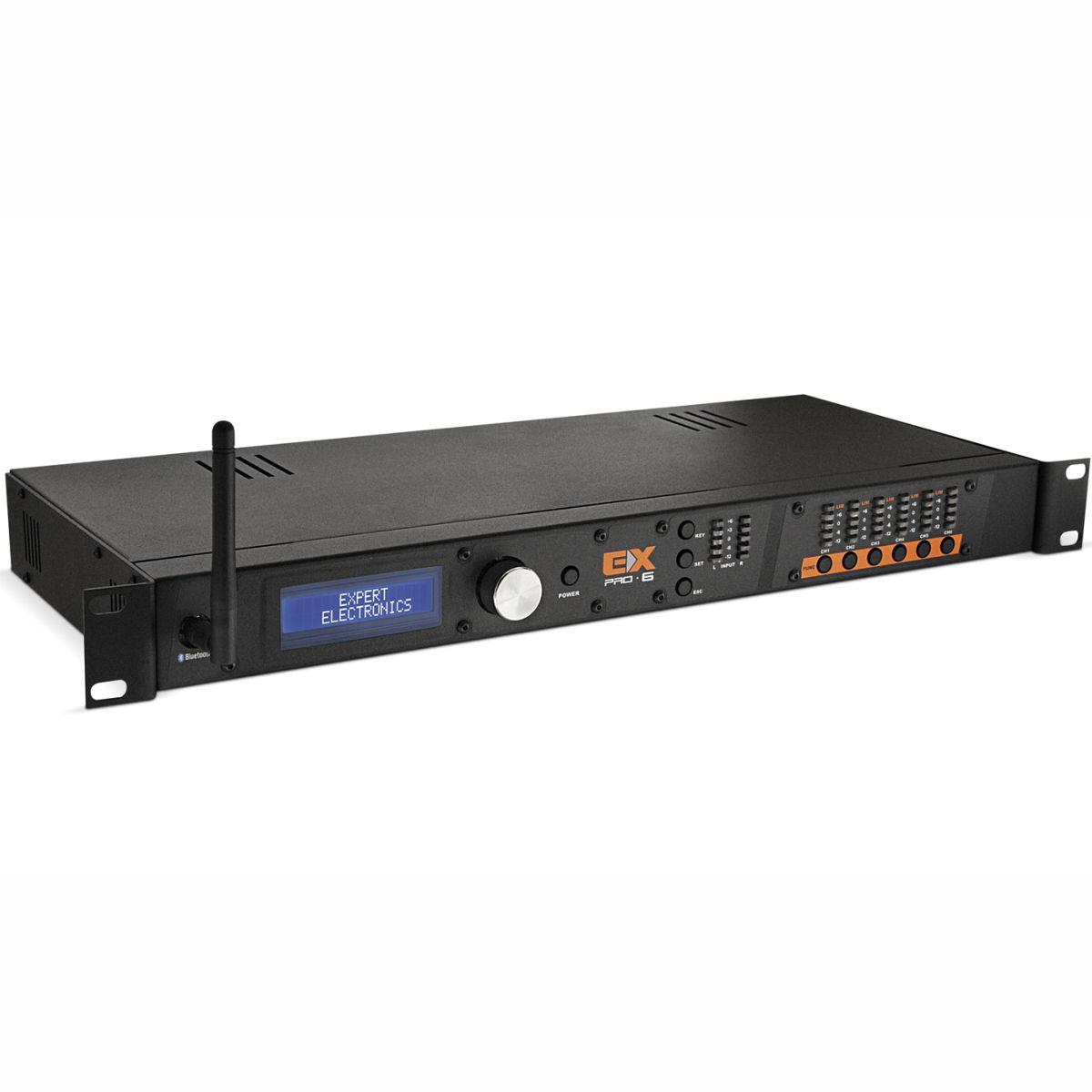 Processador de Áudio Banda Expert Electronics PRO 6 Connect 6 Vias