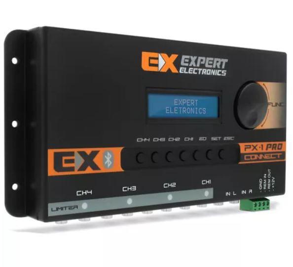 Processador de Áudio Banda Expert Electronics PX1 Pro Connect 4 Vias Bluetooth