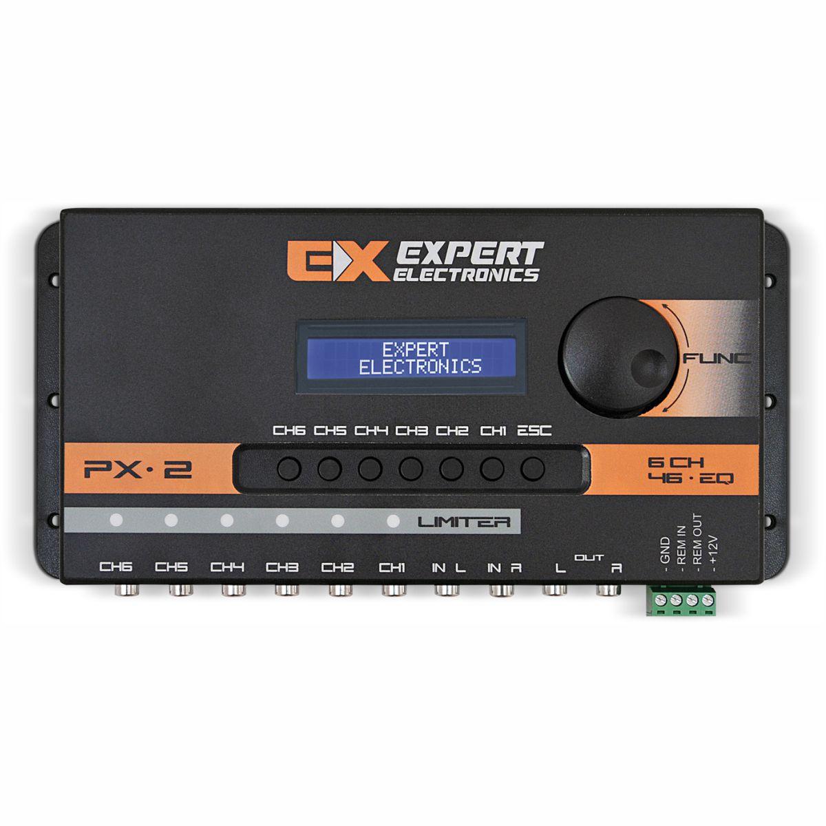 Processador de Áudio Banda Expert Electronics PX2 6 Vias