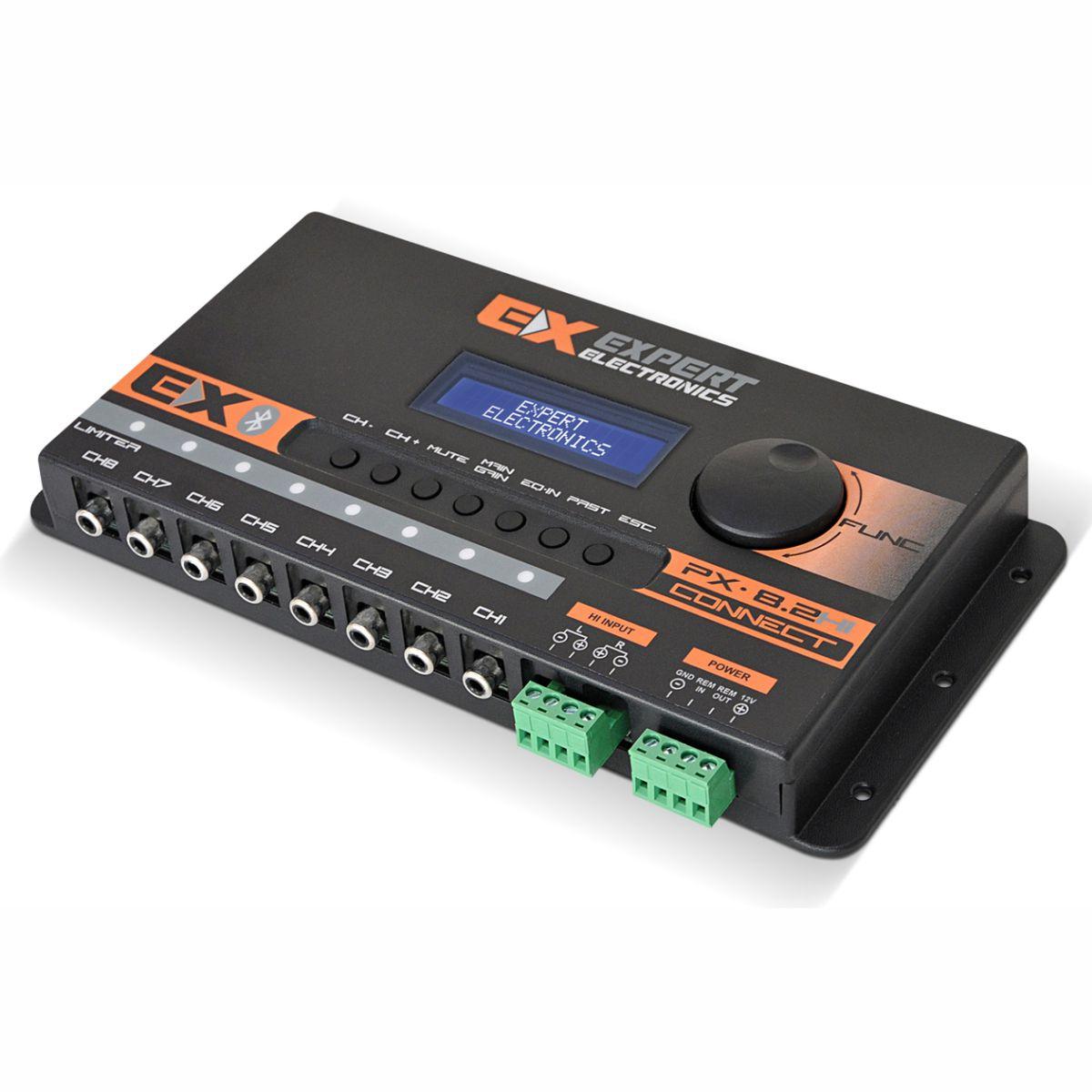 Processador de Áudio Banda Expert Electronics PX8.2 HI Connect 8 Vias