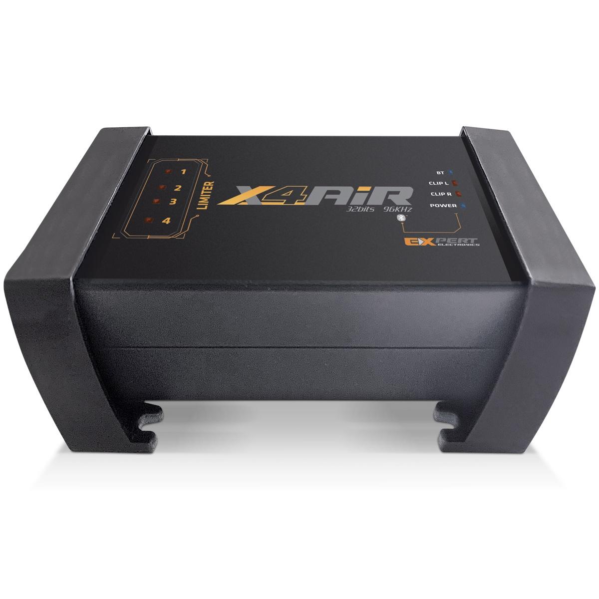 Processador de Áudio Expert Electronics X4 Air Connect 4 Vias Bluetooth