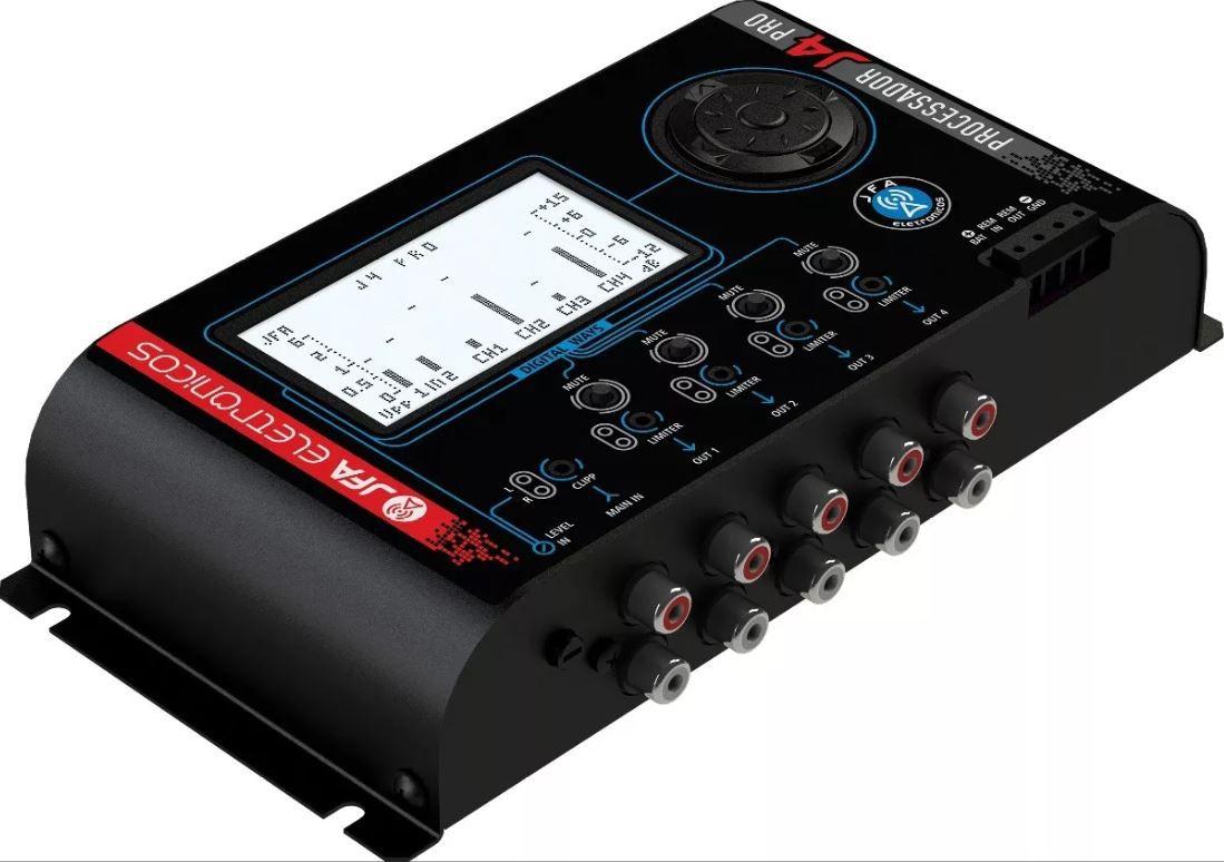 Processador de Áudio JFA J4 PRO 4 Vias